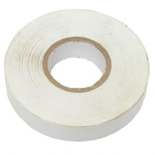 Connect 30381 White PVC Insulation Tape 19mm x 20m Pk 10